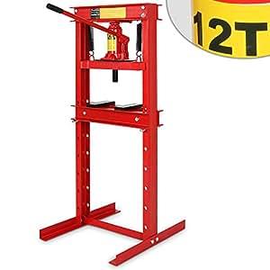 Pressa idraulica pressa manuale da 12 tonnellate amazon for Pressa idraulica manuale