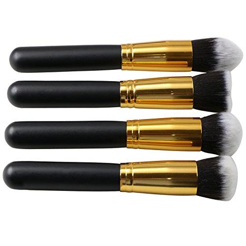 TRIXES Ensemble de maquillage comprenant 4 pinceaux de fond de teint