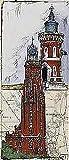 Kunstdruck/Poster: Ole West Bremerhaven - hochwertiger