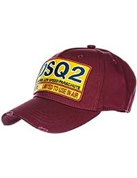 Amazon.fr   Dsquared2 - Bérets   Casquettes, bonnets et chapeaux ... ae81b6b8d0ca