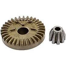sourcingmap® La Pieza De Repuesto Metal Ángulo Eléctrico Amoladora Eespiral Cónico De Piñón Engranaje Set