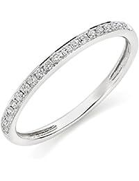 Asset Jewels Silver Real Diamond Ring For Girls/ Women - B078LV9VX2