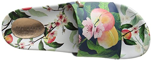 Ted Baker Aveline, Sandales À Bout Ouvert Pour Femme, Blanches (peach Blossom White)