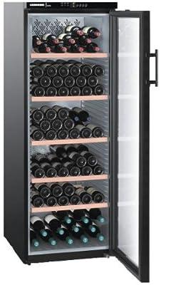 Liebherr WTB 4212 - wine coolers (freestanding, Black, 5 - 18 °C, Black, SN-ST, A) by Liebherr