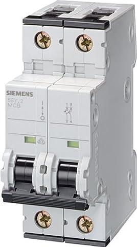 Siemens Indus.Sector LS-Schalter 5SY4204-8 10KA,2p,D,4A,T=70mm SENTRON Leitungsschutzschalter 4001869202235