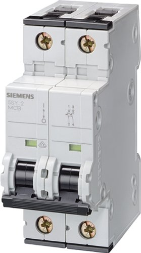 Siemens 5SY4205 - 7 double Pole MCB Type C 10 KA