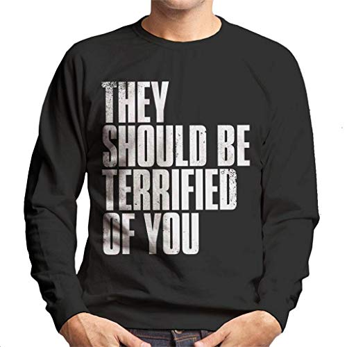 Cloud City 7 The Last of Us II They Should Be Terrified of You Men's Sweatshirt