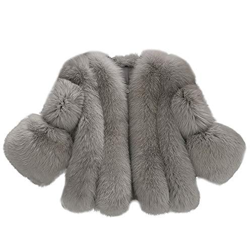 Maglione donna cappotto inverno felpa con cappuccio maniche lunghe distintivo giacca moda pura corta in pelliccia sintetica sweatshirt hoodie camicetta dolcevita classico tops qinsling