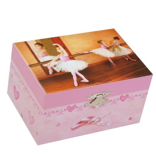 Spieluhrenwelt Kinder-Schmuckdose Ballerina Spielt die Melodie It'S A Small World 22112