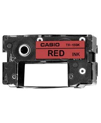 CASIO TR-18RD Farbband rot für Casio Disc Titler CW-Serie
