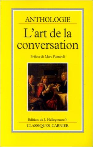 L'art de la conversation. Anthologie