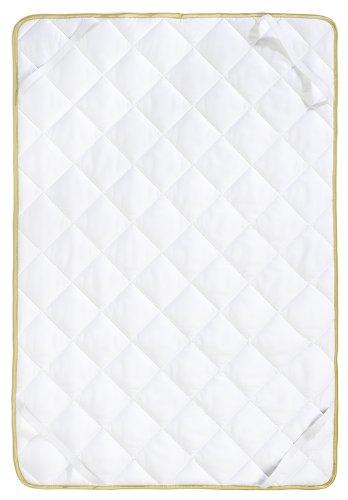 Frau Holle Baby-Matratzenauflage aus 100% Schurwolle, 60 x 120 cm, 300 g - 0325-44