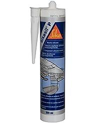 Sellador de silicona Marino sikasil-p 300ml), color blanco