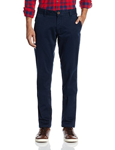 People Men's Casual Trousers