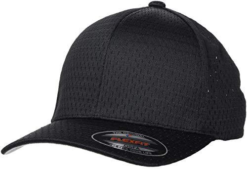 Flexfit Athletic Mesh Cap, Black, one Size -
