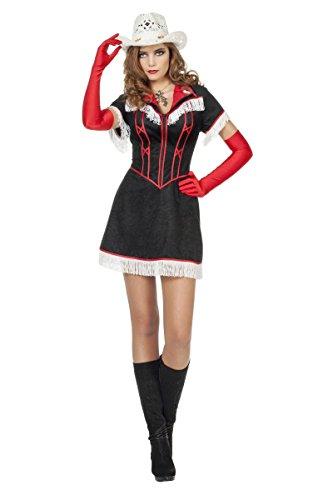 (Western Damen Kostüm Cowgirl Revolverheldin Karneval Fasching Gr.52)