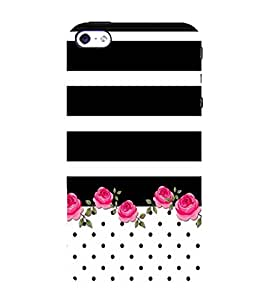 Fiobs Designer Back Case Cover for Apple iPhone 4S (Flowers Theme Floral Love Lovely Gift)