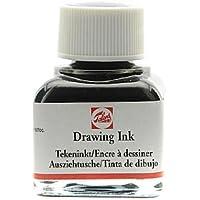 Tinta de Dibujo Negra Drawing Ink TALENS Negra 11ml