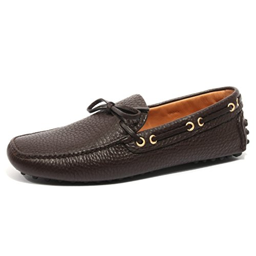 B2370 mocassino uomo CAR SHOE KUD scarpa marrone loafer shoe man [6.5]