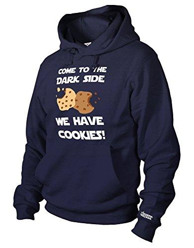 ark Side WE Have Cookies - Herren UND Damen - Hoodie in Navy by Gr. L ()