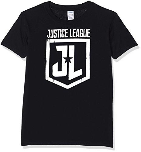CID Men's Justice League Movie-Foil Logo T-Shirt