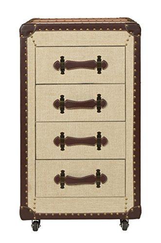Aufbewahrung Schubladen ts ideen kommode schrank koffer industrie design truhe kunstleder