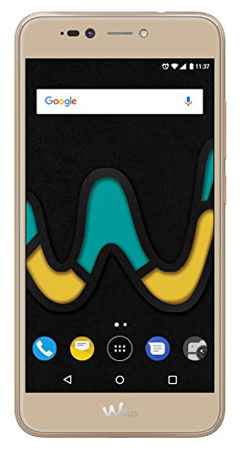"Wiko Upulse SIM doble 4G 32GB Oro - Smartphone (14 cm (5.5""), 32 GB, 13 MP, Android, 7.0 Nougat, Oro)"