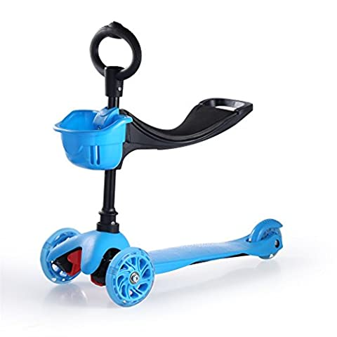 Kinderscooter, YKS faltbare Scooter Roller Tretroller Cityroller Scooter Roller, geeignet