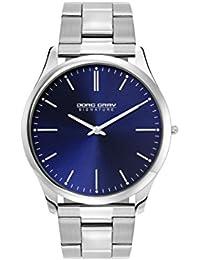 Jorg Gray Herren-Armbanduhr XL Analog Quarz Edelstahl JGS2550B