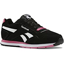 e7b08c98408f2 Reebok Royal Glide Chaussures Mode Sneakers Femme Cuir Suede