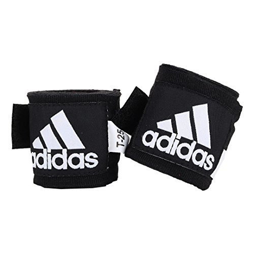 Adidas Handbandagen, für Boxen/Kampfsport, 255cm, Schwarz (Black Bandage Cotton)