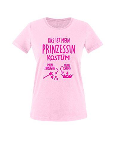 Luckja Das ist mein Prinzessin Kostüm Damen Rundhals T-Shirt