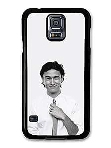 Joseph Gordon Levitt Black & White Tie hülle für Samsung Galaxy S5