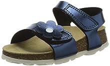 superfit Fussbettpantoffel, Pantofole Bambina, Blu (Blau 80), 27 EU