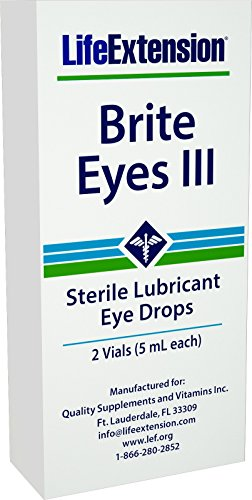 Life Extension Brite Augen Iii Vials (5 ml), 2-Count