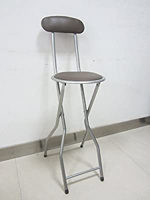 Quality Folding Black Bar Stool Chair For Parties Office Home Breakfast Stool - low-cost UK light store.
