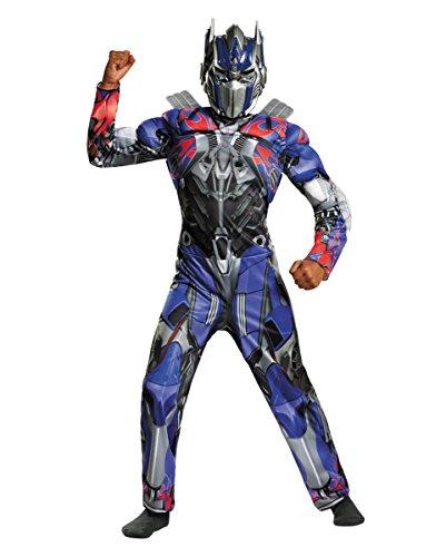 Optimus Kostüme Transformer Prime (Originales Optimus Prime Kostüm für Kinder aus dem Sci-Fi Spielfilm Transformers)
