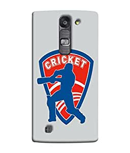 PrintVisa Designer Back Case Cover for LG G4 Mini :: LG G4c :: LG G4c H525N (Batsman Playing Shot Cover Drive )