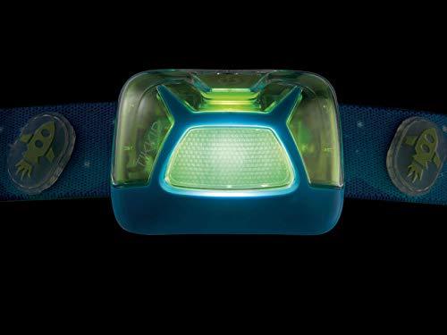 Petzl Jungen Tikkid Stirnlampe, Blau, Uni