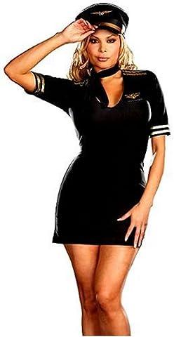 Cesar - 3523M - Costume - Dreamgirl - Hôtesse de L'air - Taille M