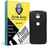 Gorilla Guard™s Black Soft TPU Case Protector Cover For Motorola G5s+ Plus 2 Made Of Soft Silicon Gel With Shock Absorbtion Bumper Fitting, Light Weight, Scratch Proof & Slim Fit Case Cover
