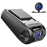 APEMAN Dash Cam Dual Dash Camera Car DVR Dashboard Recorder FHD 1080P 170°