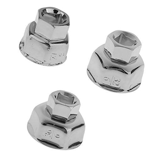 Preisvergleich Produktbild MagiDeal 3er Set 27mm / 32mm / 36mm Filterschlüssel Ölfilterschlüssel Entfernen Werkzeug