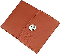 Wenzest Designer Mens Tan Wallets