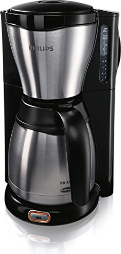 Philips Viva Collection HD7546 Drip coffee maker 1.2L 10cups Black,Stainless steel – coffee makers (freestanding, Semi-auto, Drip coffee maker, Ground coffee, Coffee, Black, Stainless steel)