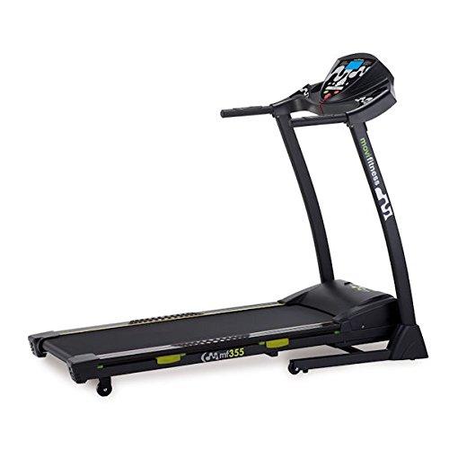 JK Fitness MF355 Tapis Roulant Inclinazione Elettrica, Nero