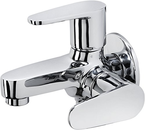 Hindware Bib Cock 2-in-1 (Chrome)