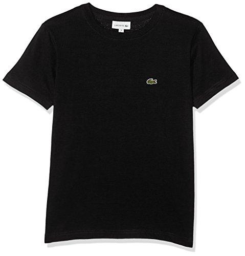 lacoste-jungen-t-shirt-tj2616-schwarz-noir-10-ans-herstellergrosse-10a