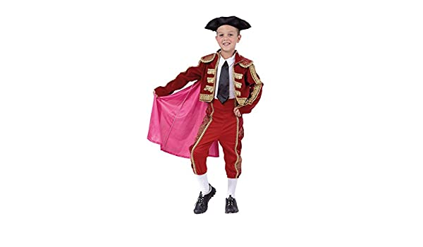 Carnevali torero T.L Bambino Costume Size from 8 to 10 Years  Amazon.it   Giochi e giocattoli e9852f7b5424