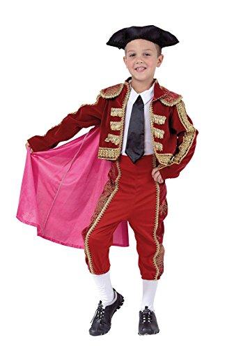 Torero Kostüm Kind - Karnavale Torero Kostüm Kind T.L from 8 to 10 years